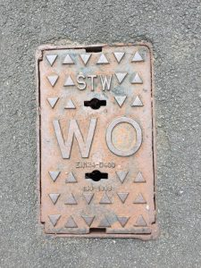 Washout Hydrant Cover (Copyright Geotechnical Engineering Ltd)